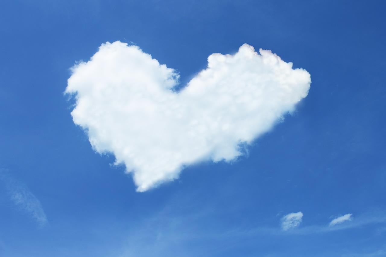 Hjärta av moln